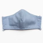 Ortho Active Cloth Face Masks for Adults - 2-Pack   Light Blue