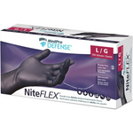MedPro Defense NiteFLEX Nitrile Powder Free Gloves - Large