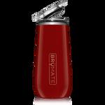BrüMate Champagne Flute 12oz - Cherry | 748613301496