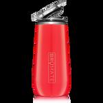BrüMate Champagne Flute 12oz - Coral | 748613301502