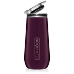 BrüMate Champagne Flute 12oz - Plum | 748613301489