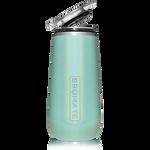 BrüMate Champagne Flute 12oz - Glitter Aqua   748613301625