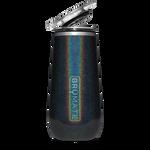 BrüMate Champagne Flute 12oz - Glitter Charcoal   748613301632
