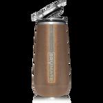 BrüMate Champagne Flute 12oz - Glitter Gold   748613301663