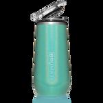 BrüMate Champagne Flute 12oz - Glitter Peacock   748613301670