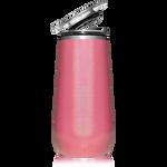 BrüMate Champagne Flute 12oz - Glitter Pink   748613301601