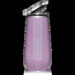 BrüMate Champagne Flute 12oz - Glitter Violet   748613301687