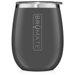 BrüMate Uncork'D XL Wine Tumbler 14oz - Charcoal Grey | 748613306569