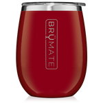 BrüMate Uncork'D XL Wine Tumbler 14oz - Cherry | 748613307191