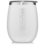 BrüMate Uncork'D XL Wine Tumbler 14oz - Ice White | 748613307214