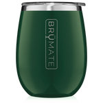 BrüMate Uncork'D XL Wine Tumbler 14oz - Emerald Green | 748613301854
