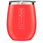 BrüMate Uncork'D XL Wine Tumbler 14oz - Coral | 748613306576