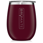 BrüMate Uncork'D XL Wine Tumbler 14oz - Merlot | 748613306491