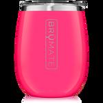 BrüMate Uncork'D XL Wine Tumbler 14oz - Neon Pink | 748613306507