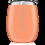 BrüMate Uncork'D XL Wine Tumbler 14oz - Peach | 748613306613