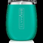 BrüMate Uncork'D XL Wine Tumbler 14oz - Peacock | 748613306590