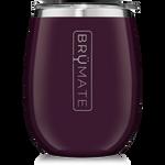 BrüMate Uncork'D XL Wine Tumbler 14oz - Plum | 748613306514