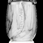 BrüMate Uncork'D XL Wine Tumbler 14oz - Carrara | 748613307221