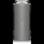 BrüMate Hopsulator Slim 12oz Slim Can - Matte Gray | 748613303704