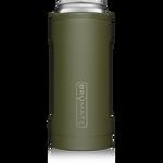 BrüMate Hopsulator Slim 12oz Slim Can - OD Green | 748613303711