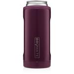 BrüMate Hopsulator Slim 12oz Slim Can - Plum | 748613302714