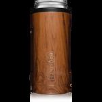 BrüMate Hopsulator Slim 12oz Slim Can - Walnut   748613304121