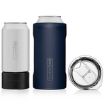 BrüMate Hopsulator TRíO 3-in-1 (12oz/16oz Can) - Matte Navy | 748613302332