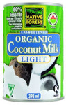 Native Forest Organic Coconut Milk Light Unsweetened | 043182012096