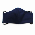 Ortho Active Cloth Face Mask for Adults - 1-Pack Navy Blue