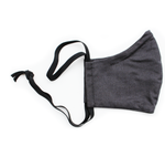 Ortho Active Reusable 3-Layer Mask (for Adults) - 1-Pack | Charcoal | 623417954409