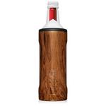 BrüMate Hopsulator Twist for 16oz Aluminum Bottles - Walnut | 748613304268