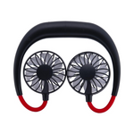 Relaxus Cool Relief Hands Free Fan | UPC: 30628949056110