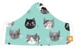 Now Designs Take Cover Mask - Cats Meow | 064180302958