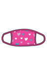 Little Blue House by Hatley Non-Medical Reusable Adult Face Mask - Hearts