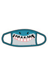Little Blue House by Hatley Non-Medical Reusable Adult Face Mask - Shark