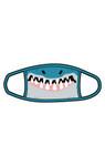 Little Blue House by Hatley Non-Medical Reusable Adult Face Mask - Shark