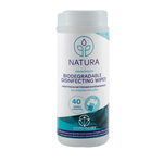 Natura Solutions Biodegradable Disinfecting Wipes 40 Wipes | 628250612851