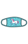 Little Blue House by Hatley Non-Medical Reusable Kids Face Mask - Unicorn