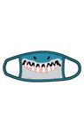 Little Blue House by Hatley Non-Medical Reusable Kids Face Mask - Shark