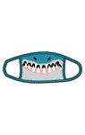 Little Blue House by Hatley Non-Medical Reusable Kids Face Mask - Shark