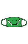 Little Blue House by Hatley Non-Medical Reusable Kids Face Mask - Crocodile