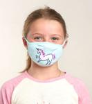 Little Blue House by Hatley Non-Medical Reusable Kids Face Mask - Unicorn