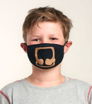 Little Blue House by Hatley Non-Medical Reusable Kids Face Mask - Bear