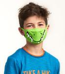 Little Blue House by Hatley Non-Medical Reusable Kids Face Mask - Crocodile