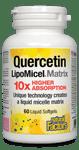 Natural Factors Quercetin LipoMicel Matrix 250 mg 60 Softgels   UPC: 068958013787