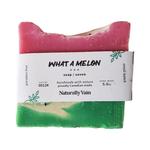 Naturally Vain What A Melon Soap Bar 5oz