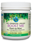 Natural Factors Whole Earth & Sea Boost Me Power-Up Mixer 175g   068958355542