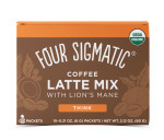 Four Sigmatic Coffee Latte Mix with Lion's Mane Think 10 Packets x 6g | 816897021499