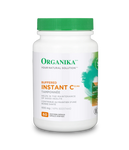 Organika Buffered Instant C 600mg 60 Vegetarian Capsules | 620365030636