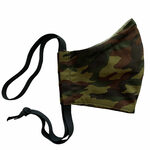 Ortho Active Cloth Face Masks for Kids - Green Camo